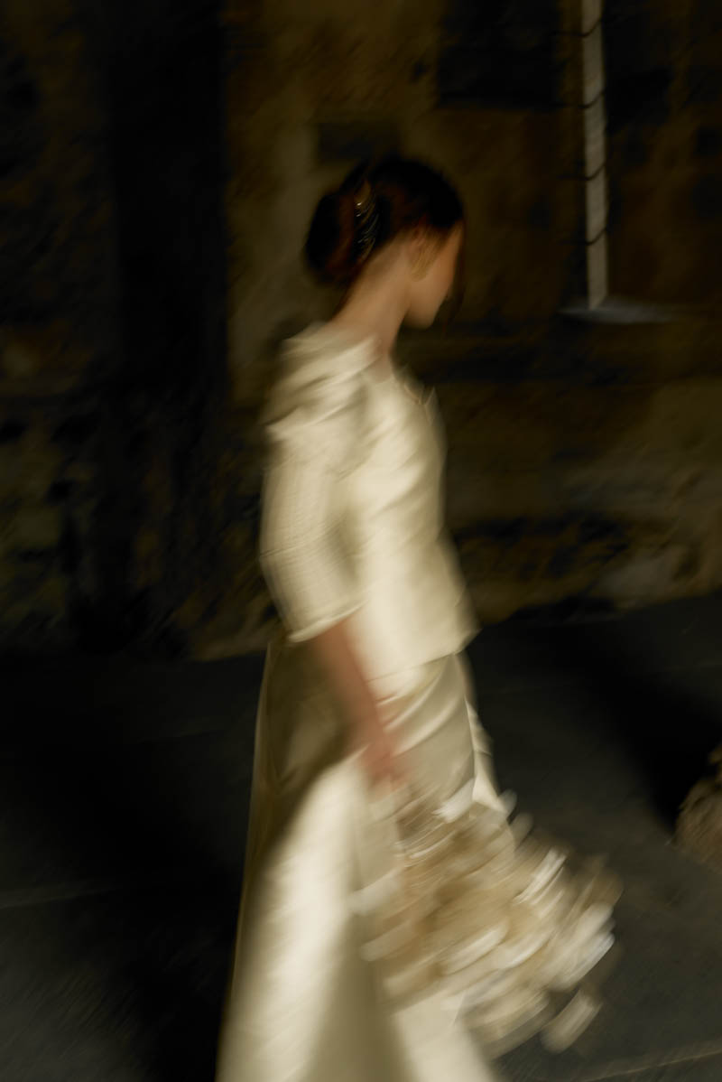 vestido novia romantico especial sara lage galicia