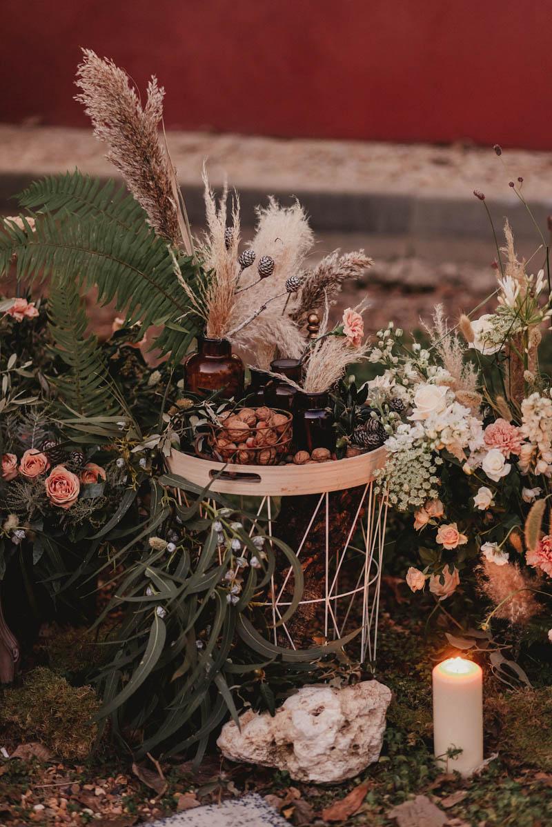 vestido novia cotonnus boda invierno ciudad real la encomienda casa rural