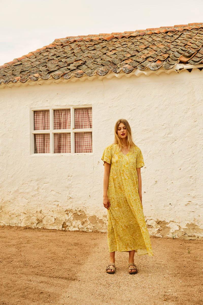 magnolya collection vestidos slow caftan boho bohemios blusones