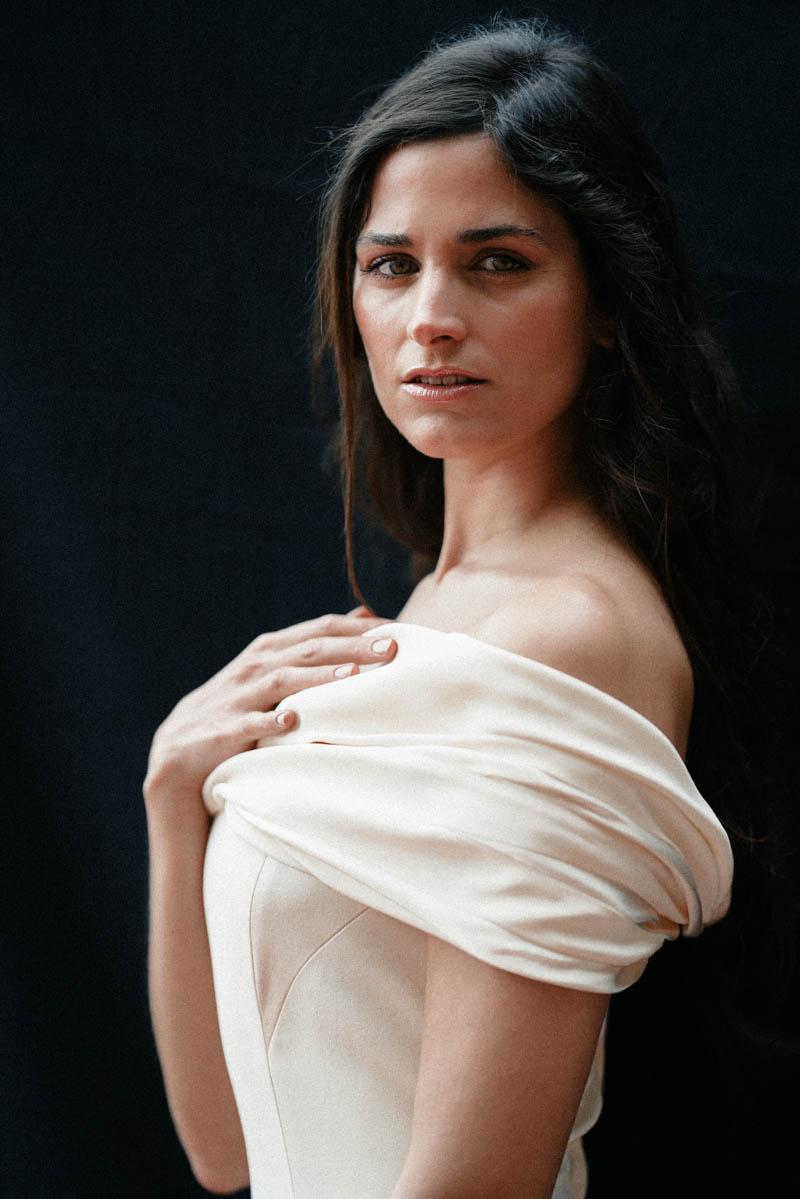 vestido novia Paredero Quiros boda sencillo elegante boho madrid a todo confetti wedding dress bridal
